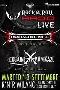 Irreverence: un concerto in diretta radio a settembre