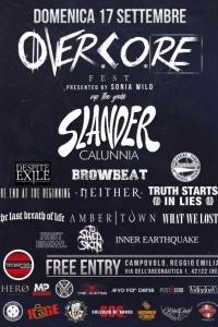 Overcore Fest il 17/9