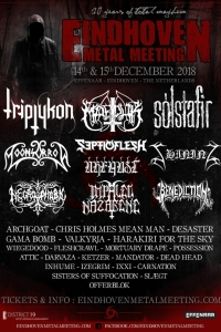 Nuove bands aggiunte all'Eindhoven Metal Meeting