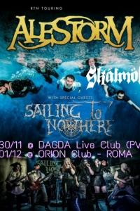 Sailing to Nowhere: due date con gli Alestorm