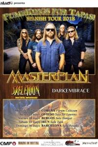 Skeletoon in tour con i Masterplan