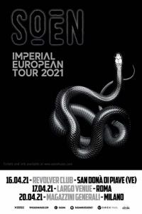 Soen: nuovo album a gennaio e concerti in Italia ad aprile