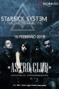 Starsick System: prima data live del 2018 in febbraio