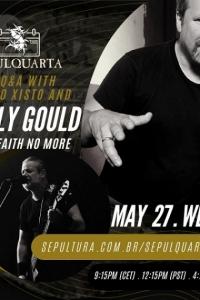 SepulQuarta con Billy Gould il 27/5