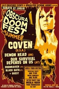 Obscura Doom Fest Summer Edition: i dettagli del festival