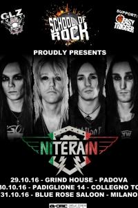 NiteRain in Italia a fine ottobre